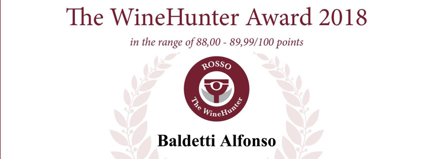 Merano Wine Festival The WineHunter Award 2018
